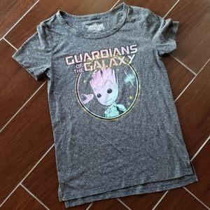 NWOT! MARVEL GUARDIANS OF THE GALAXY GROOT T-SHIRT